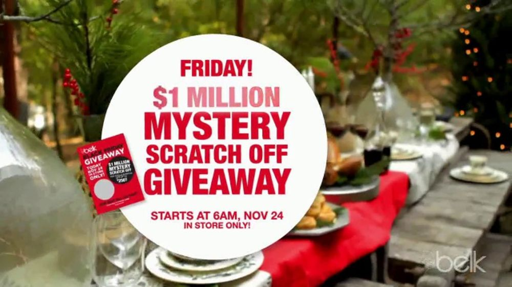 Belk Black Friday Sale Tv Commercial Giveaways Men S