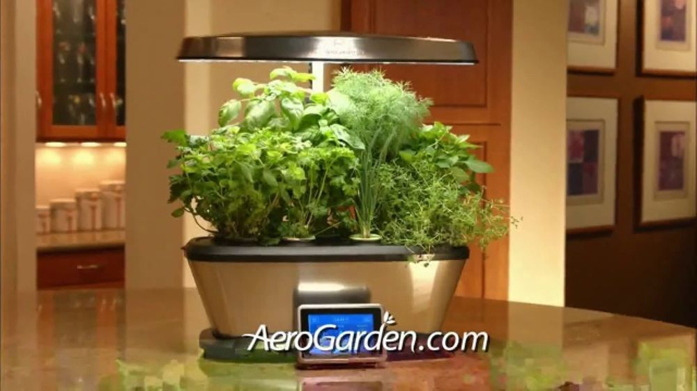Miracle Gro Aerogarden Tv Commercial Plant To Plate