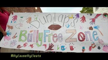NFL TV Spot, 'My Cause My Cleats: Bully Free Zone' Featuring Carlos Dunlap - Thumbnail 1