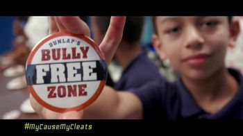 NFL TV Spot, 'My Cause My Cleats: Bully Free Zone' Featuring Carlos Dunlap - Thumbnail 6