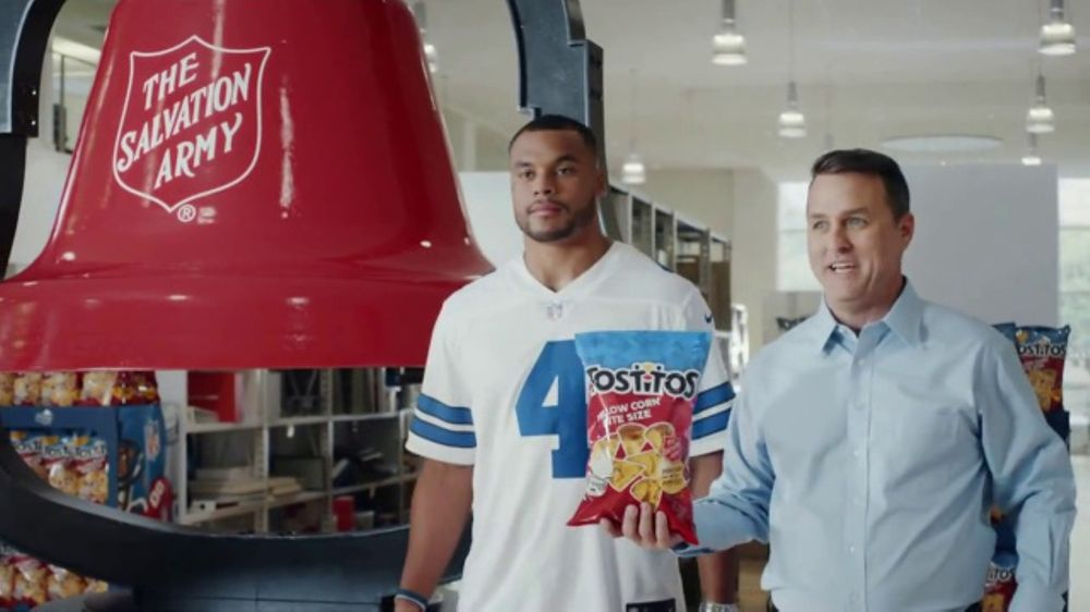 Tostitos Yellow Corn Bite Size TV Commercial, 'You Buy a Bag, We Ring a Bell'