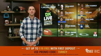 DraftKings TV Spot, 'Thanxiety' - 1 commercial airings