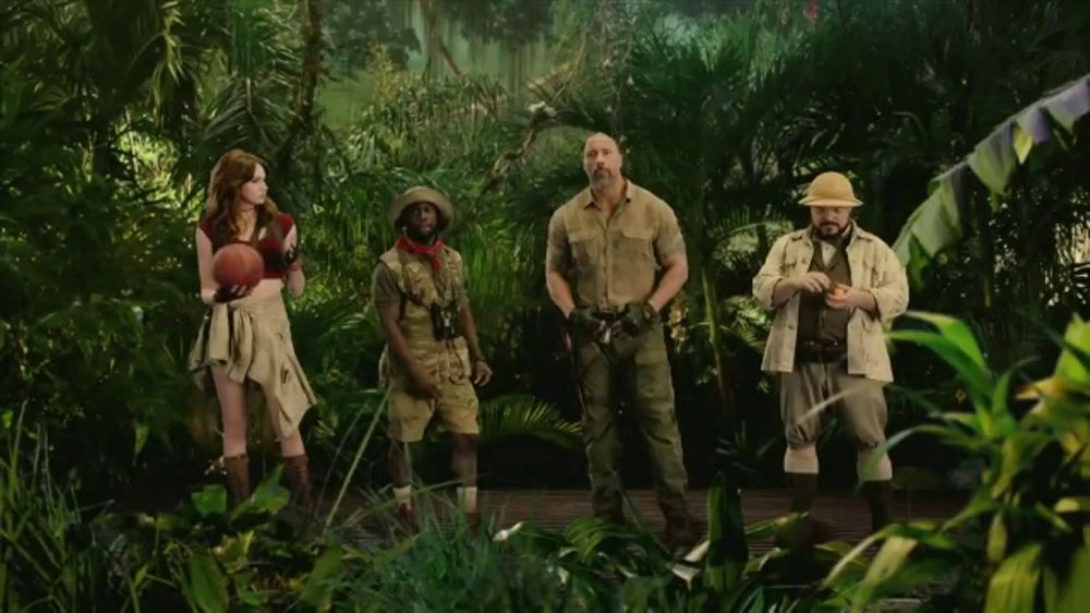 Dave and Buster's TV Commercial, 'Jumanji: Play Four Games Free'