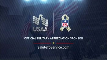 USAA TV Spot, 'Salute to Service: Thanksgiving Dinner' Ft. Larry Fitzgerald - Thumbnail 9