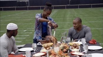 USAA TV Spot, 'Salute to Service: Thanksgiving Dinner' Ft. Larry Fitzgerald - 7 commercial airings
