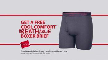 Hanes Fresh IQ TV Spot, 'End the Smelfie: Free Boxer Brief' - Thumbnail 10