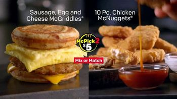 McDonald's McPick 2 TV Spot, 'Powerhouse Menu' - Thumbnail 8