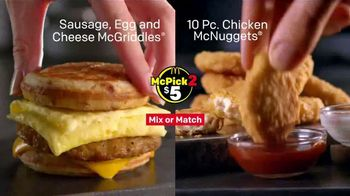 McDonald's McPick 2 TV Spot, 'Powerhouse Menu' - Thumbnail 7