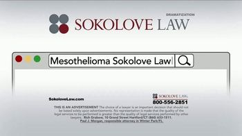 Sokolove Law TV Spot, 'Search Mesothelioma Sokolove Law' - Thumbnail 4