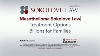Sokolove Law TV Spot, 'Search Mesothelioma Sokolove Law' - Thumbnail 6