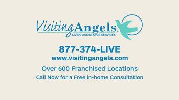 Visiting Angels TV Spot, 'Caring Angel' - Thumbnail 8