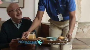 Visiting Angels TV Spot, 'Caring Angel' - Thumbnail 2