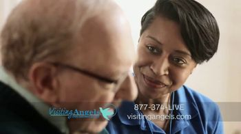 Visiting Angels TV Spot, 'Caring Angel' - Thumbnail 4