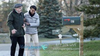 Visiting Angels TV Spot, 'Caring Angel' - Thumbnail 6