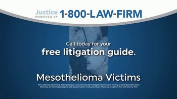 1-800-LAW-FIRM TV Spot, 'Mesothelioma Victims'