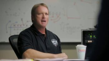 Dunkin' Donuts App TV Spot, 'Coffee Coach: Line' Featuring Jon Gruden - Thumbnail 1
