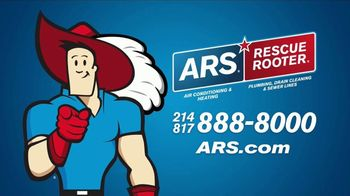 ARS Rescue Rooter TV Spot, 'Heater Service Call'