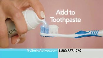 Smileactives Power Gel TV Spot, 'Teeth Whitening Will Never Be the Same' - Thumbnail 2