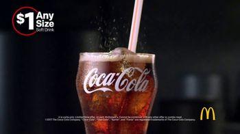 McDonald's $1 Any Size Soft Drinks TV Spot, 'Shorter Days' - Thumbnail 6