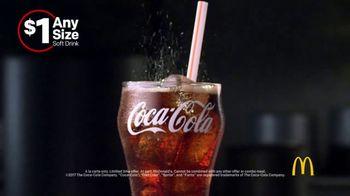 McDonald's $1 Any Size Soft Drinks TV Spot, 'Shorter Days' - Thumbnail 7