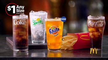 McDonald's $1 Any Size Soft Drinks TV Spot, 'Shorter Days' - Thumbnail 8