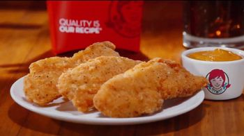 Wendy's Chicken Tenders Combo TV Spot, 'To Dip or Not to Dip' - Thumbnail 1