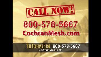 The Cochran Law Firm TV Spot, 'Hernia Surgery' - Thumbnail 3