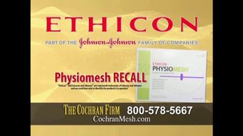 The Cochran Law Firm TV Spot, 'Hernia Surgery'