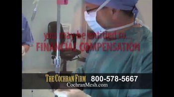 The Cochran Law Firm TV Spot, 'Hernia Surgery' - Thumbnail 5