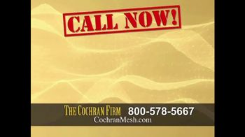 The Cochran Law Firm TV Spot, 'Hernia Surgery' - Thumbnail 6