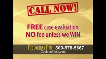 The Cochran Law Firm TV Spot, 'Hernia Surgery' - Thumbnail 7