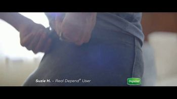 Depend Silhouette Active Fit TV Spot, 'How Suzie Stays Active'