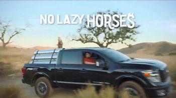 Nissan Titan TV Spot, 'No Lazy Horses' [T1] - Thumbnail 10