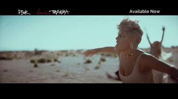 Apple Music TV Spot, 'P!NK: Beautiful Trauma' - Thumbnail 2