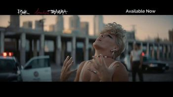 Apple Music TV Spot, 'P!NK: Beautiful Trauma' - Thumbnail 5
