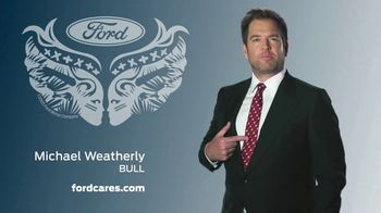Ford Warriors in Pink Tie TV Spot, 'No Rules' Featuring Michael Weatherly - Thumbnail 5