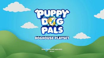 Puppy Dog Pals Doghouse Playset TV Spot, 'Disney Junior: Down the Slide' - Thumbnail 8