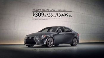 2017 Lexus IS 300 AWD TV Spot, 'Break Away' - Thumbnail 6