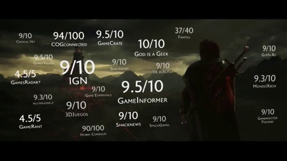 Middle earth shadow of war tv commercial 39 must have for Design com