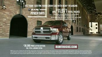 Ram Trucks Power Days TV Spot, 'Football: Long Live Ram' [T2] - Thumbnail 9
