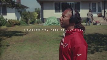 Bose QuietComfort 35 TV Spot, \'Young\' Featuring Larry Fitzgerald