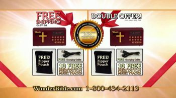 Wonder Bible TV Spot, 'Source of Inspiration: Double Offer' - Thumbnail 9
