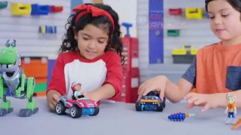 Rusty Rivets Build Sets TV Spot, 'Buggy, Jet Pack and Botasaur'