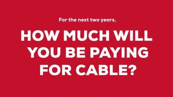 FiOS by Frontier TV Spot, 'Cable Keeps Raising Prices: Two Years ' - 14 commercial airings