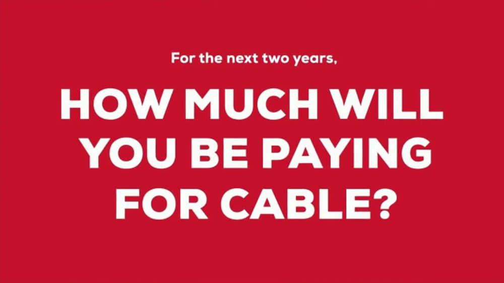 FiOS by Frontier TV Commercial, 'Cable Keeps Raising Prices: Two Years '