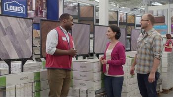 Lowe's TV Spot, 'The Moment: Latest Flooring Styles' - Thumbnail 6