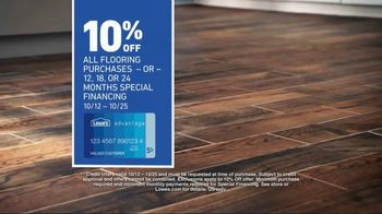 Lowe's TV Spot, 'The Moment: Latest Flooring Styles' - Thumbnail 8
