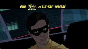Batman vs. Two-Face Home Entertainment TV Spot - 87 commercial airings