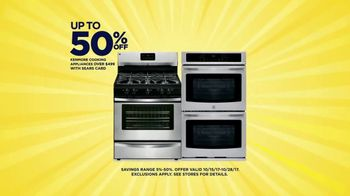 Sears Cashback Bonanza TV Spot, 'Kenmore Appliances'