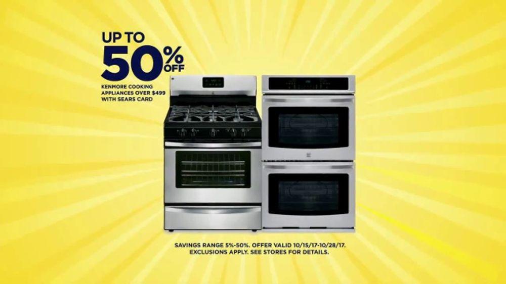 sears cashback bonanza tv commercial kenmore appliances ispottv - Sears Kitchen Appliances